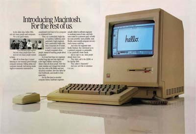 The original Mac brochure