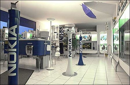 Nokia Concept Store in Austria