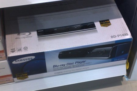 Blu-ray Samsung player