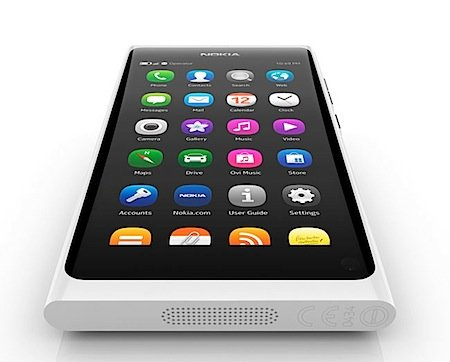 Nokia N9 in white